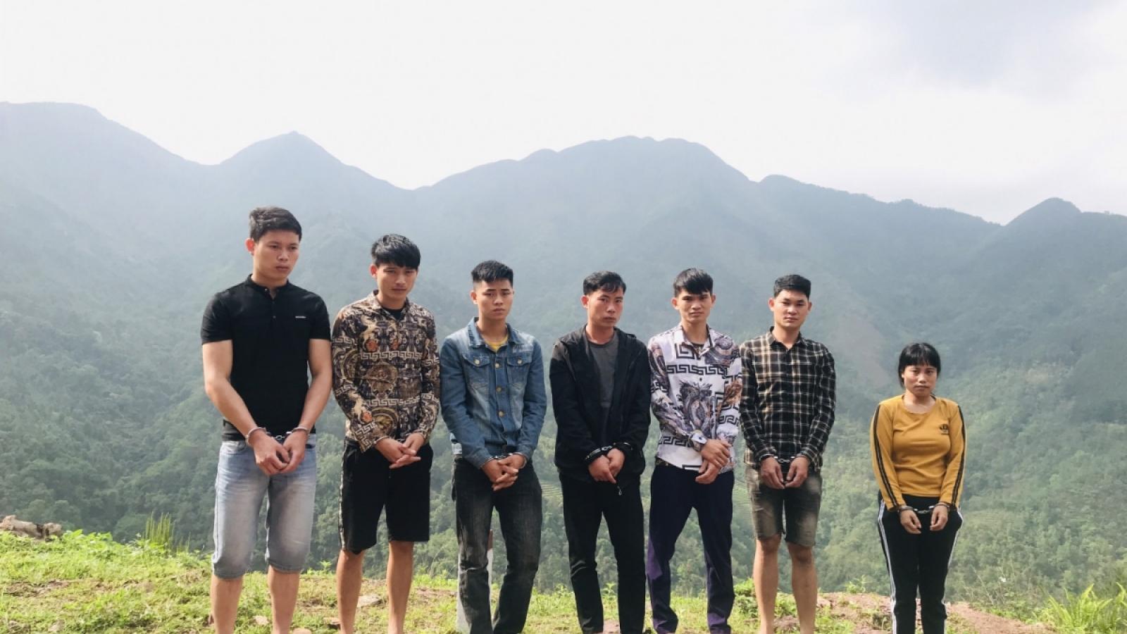 Quang Ninh police arrest individuals for organising illegal exit