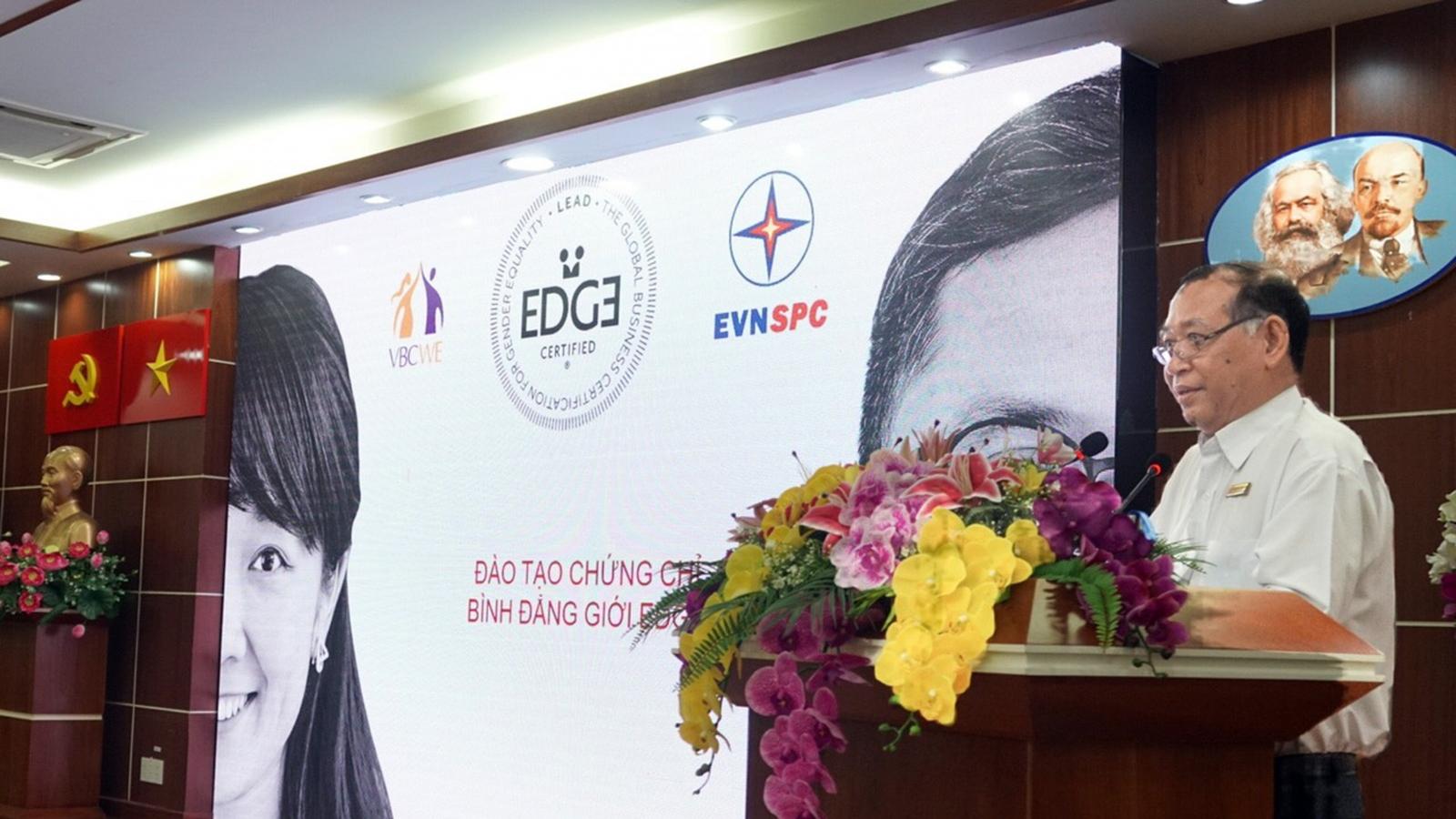 Điện lực miền Nam nhận chứng chỉ Bình đẳng giới toàn cầu (EDGE)