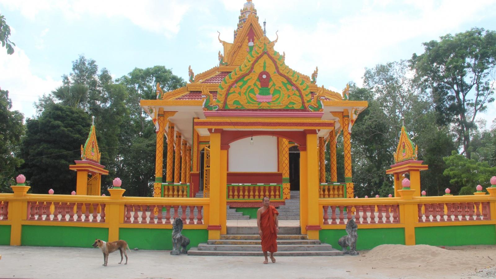 Bảo tồn giá trị lịch sử chùa Nam Tông Khmer