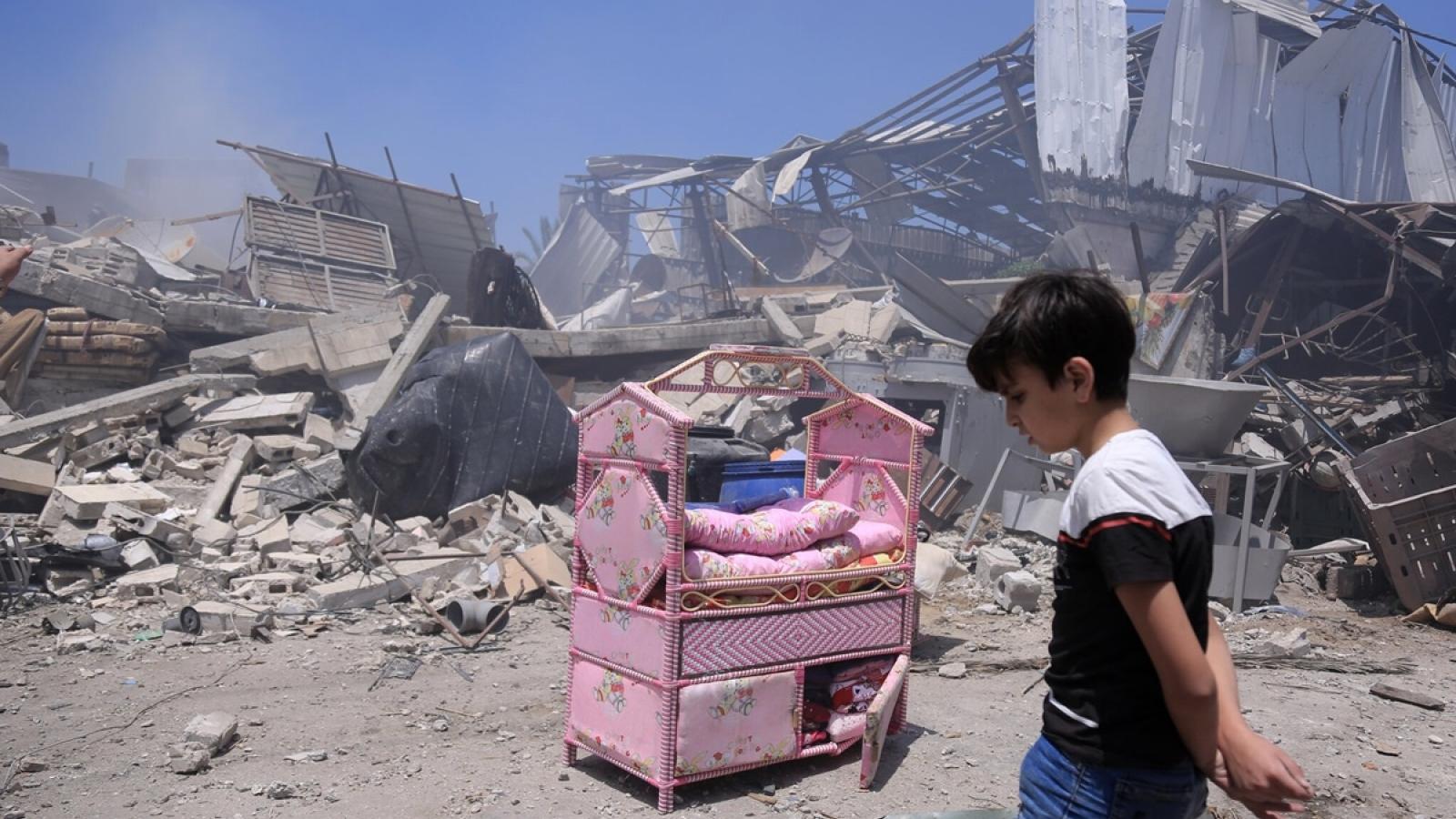 Giao tranh dữ dội giữa Israel-Palestine: Dân thường hứng chịu hậu quả nặng nề