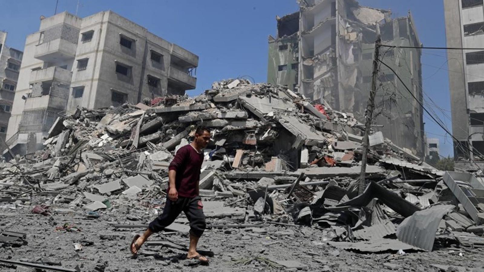 Chiến sự khốc liệt kết thúc, Gaza vẫn quay cuồng trong cuộc khủng hoảng nhân đạo