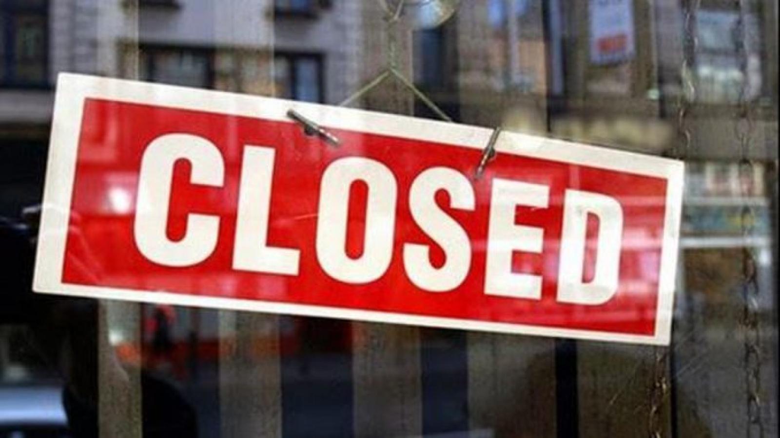 Từ hôm nay 19/5, một số doanh nghiệp phá sản được xem xét xóa nợ