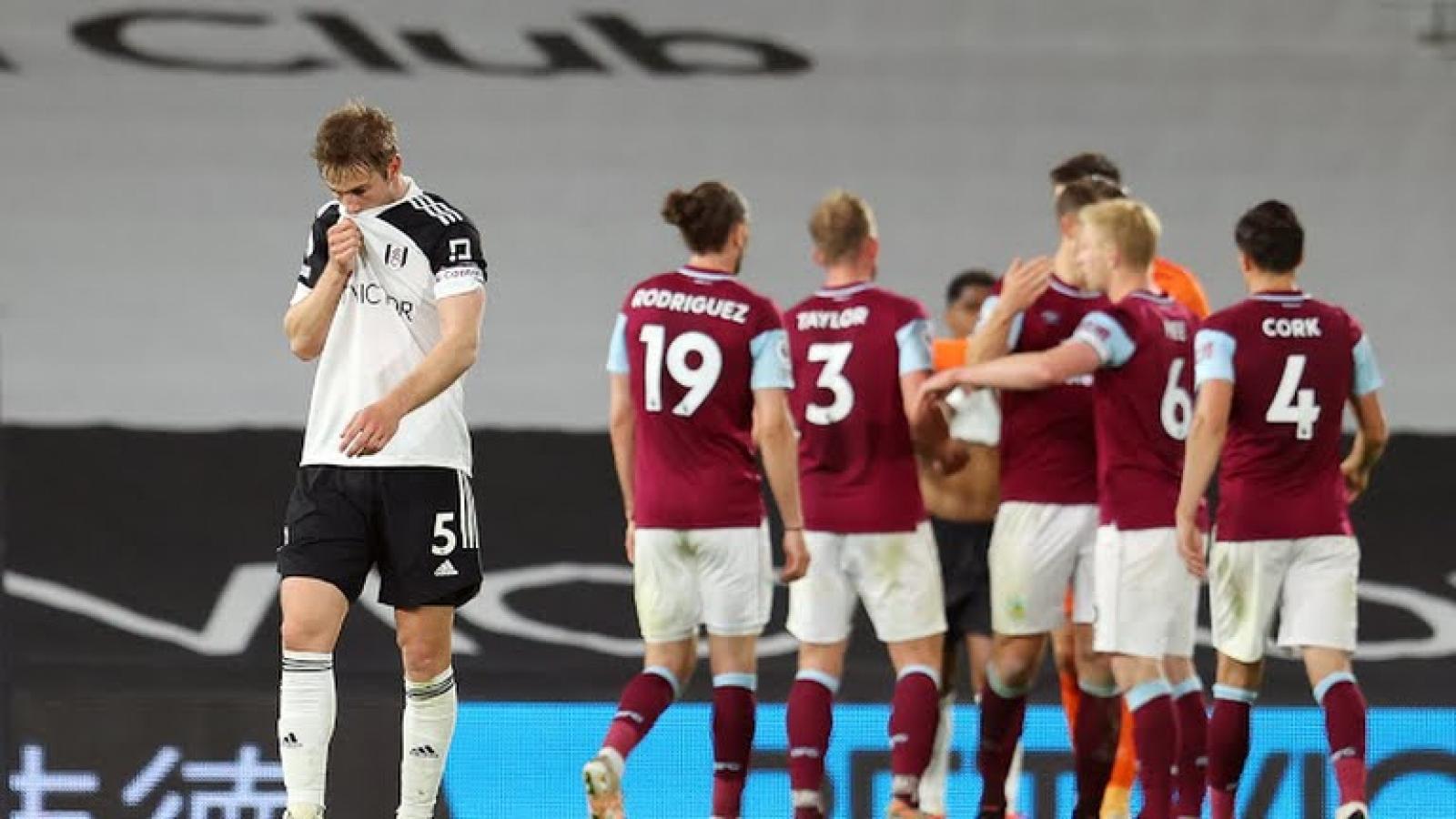 Ngoại hạng Anh đã xác định xong 3 đội xuống hạng