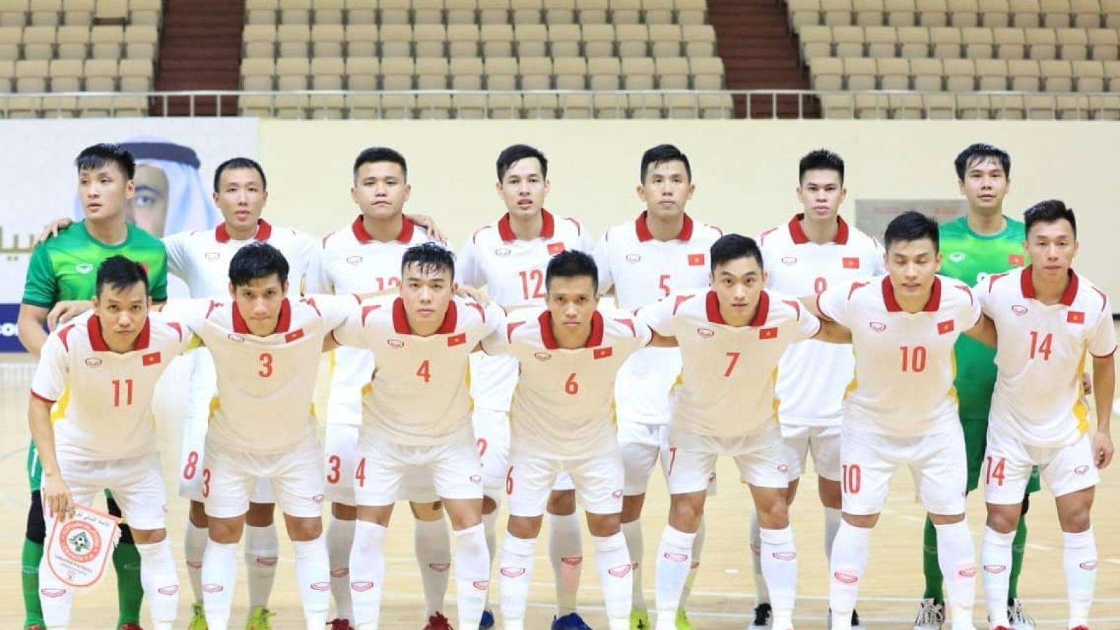 Bốc thăm Futsal World Cup 2021: ĐT Futsal Việt Nam cùng bảng Brazil