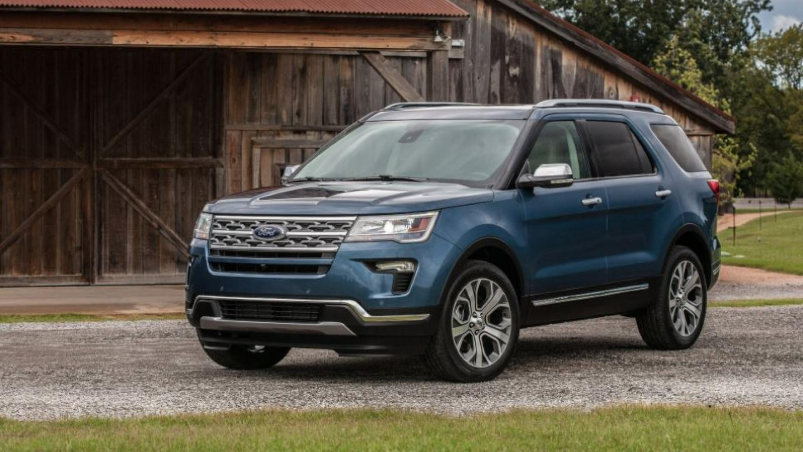 Ford triệu hồi 661.000 mẫu Explorer tại Bắc Mỹ