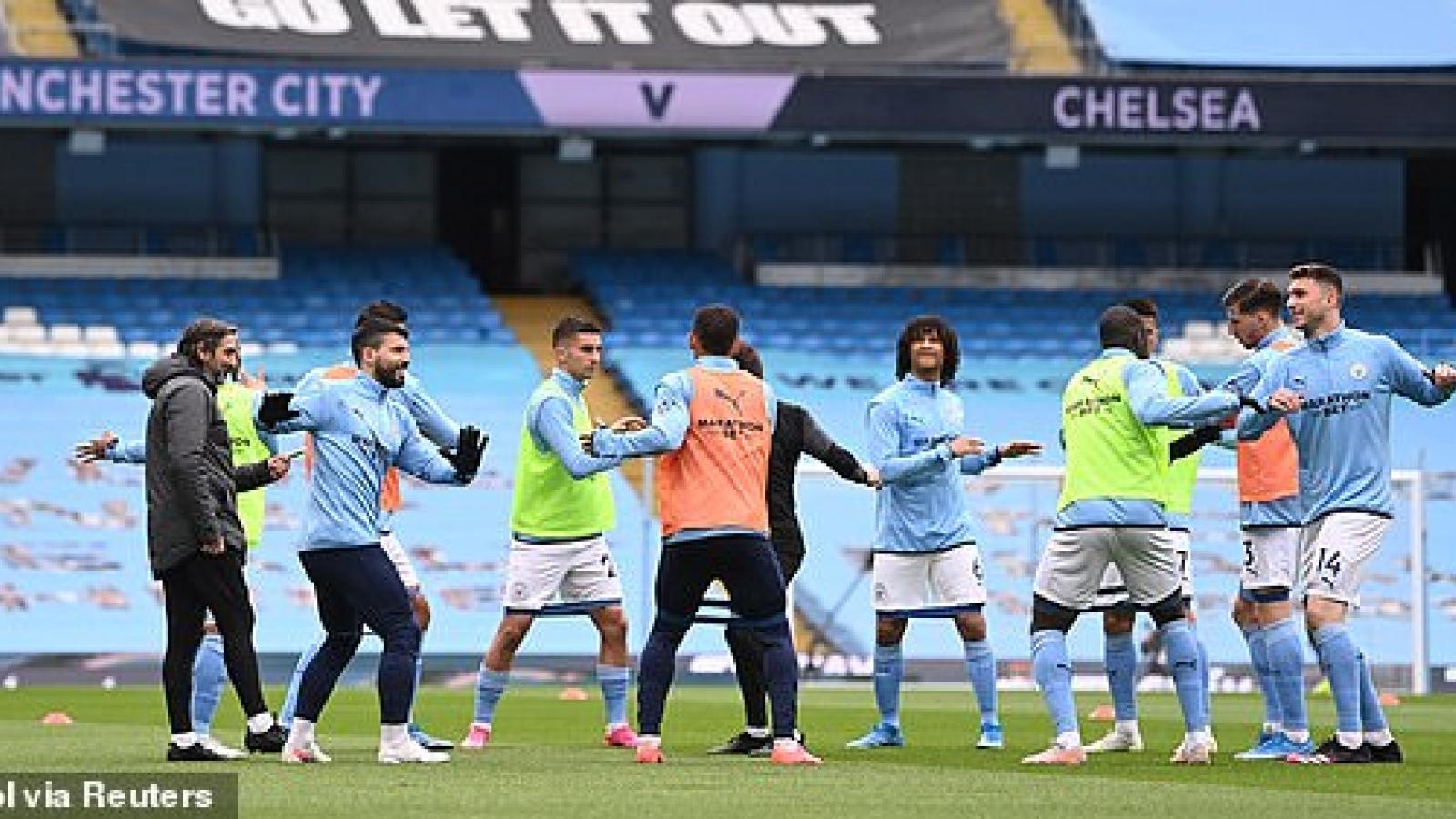 TRỰC TIẾP Man City 0 - 0 Chelsea: Man xanh phát lệnh tổng tấn công