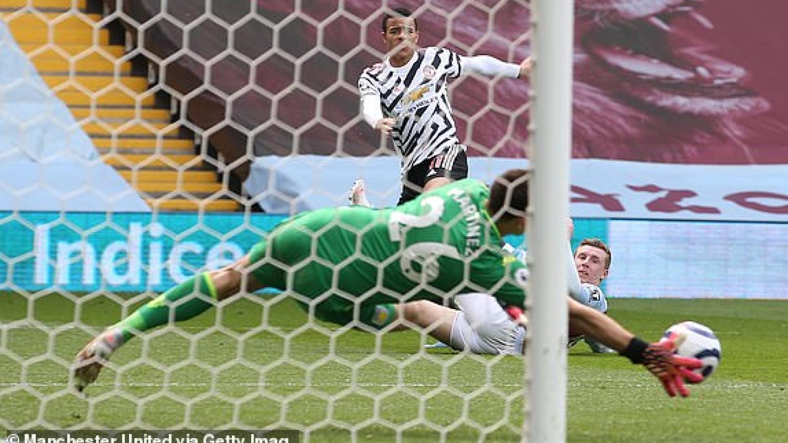 TRỰC TIẾP Aston Villa 1 - 2 MU: Quỷ đỏ ngược dòng như một thói quen
