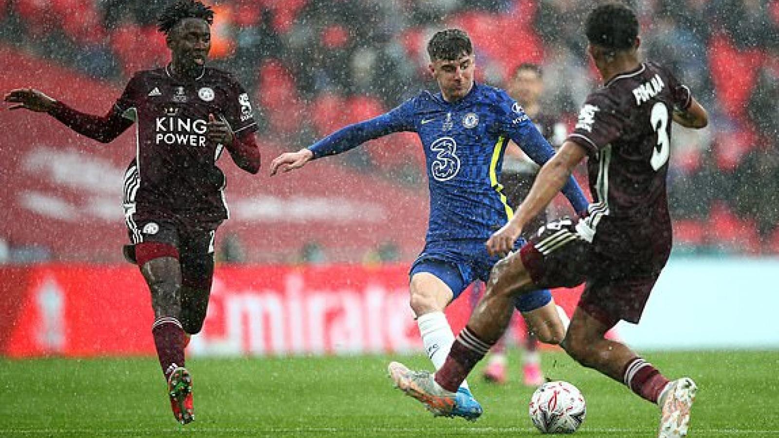 TRỰC TIẾP Chelsea 0 - 1 Leicester City: Siêu phẩm sút xa