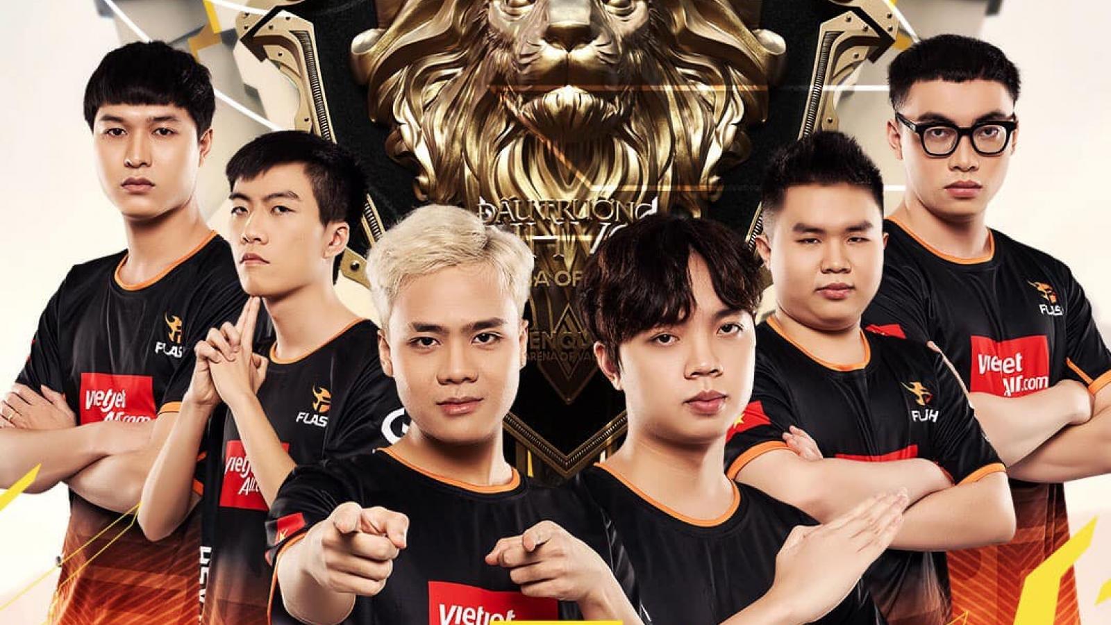 """Team Flash """"hủy diệt"""" Sài Gòn Phantom để trở lại ngôi vương"""