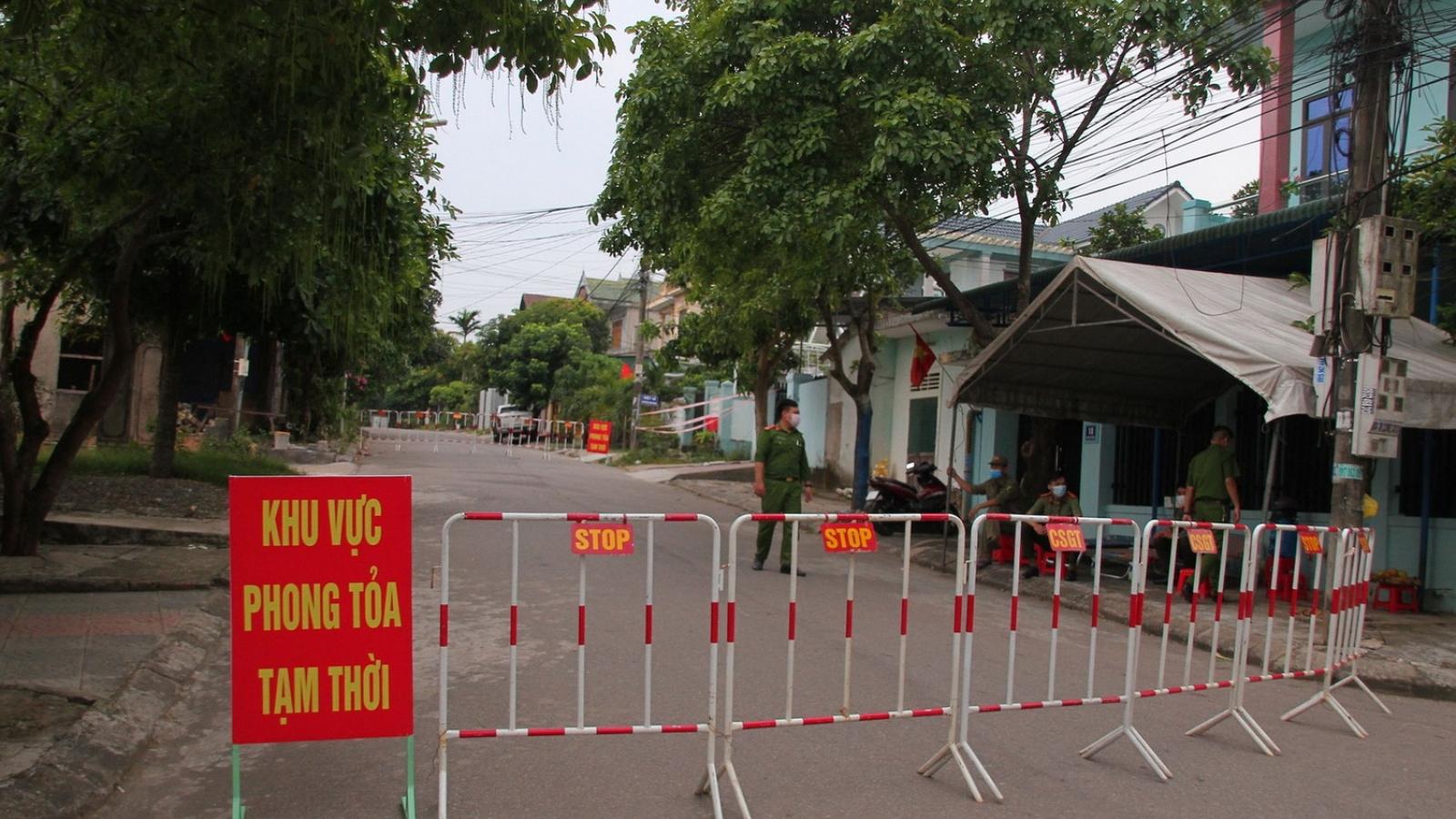 Tạm dừng việc vận chuyển hành khách từ Đà Nẵng về Quảng Trị