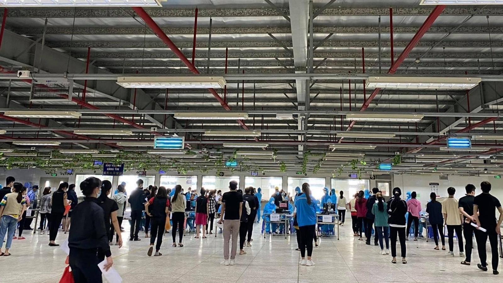 Bắc Giang phát hiện thêm 24 ca dương tính SARS-CoV-2 tại KCN Vân Trung và Quang Châu