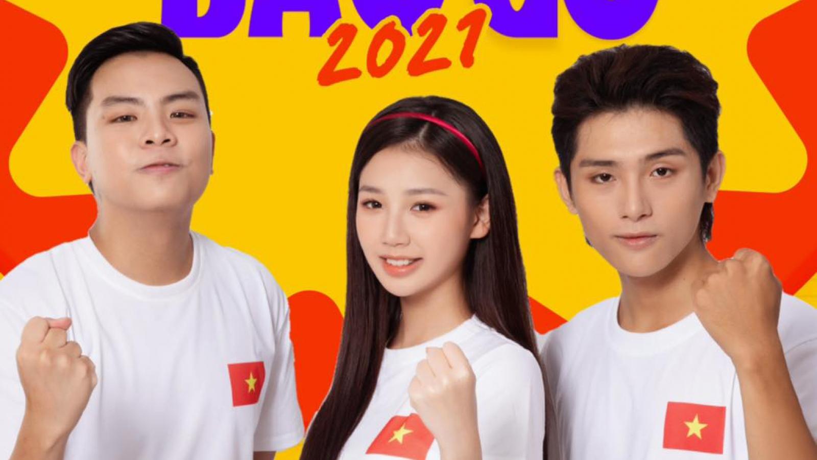 """Không khí trẻ trung, sôi động trong MV """"Bài ca bầu cử"""" của Hứa Kim Tuyền, Amee và Grey D"""