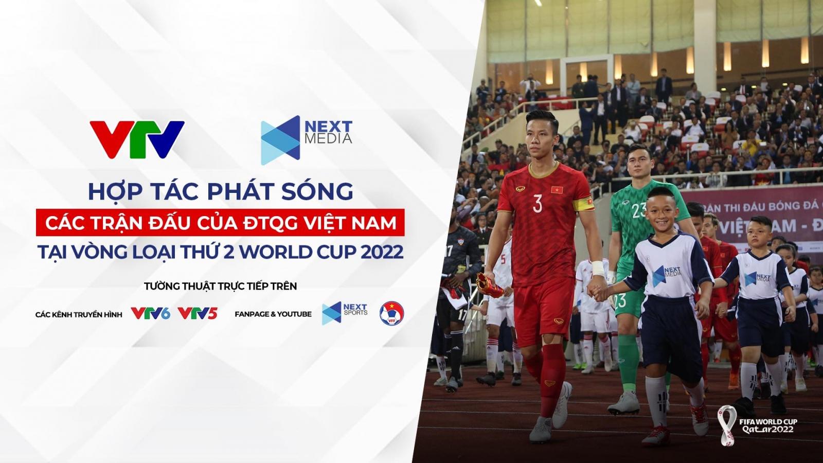 Xem trực tiếp ĐT Việt Nam thi đấu vòng loại thứ 2 World Cup 2022 ở đâu?
