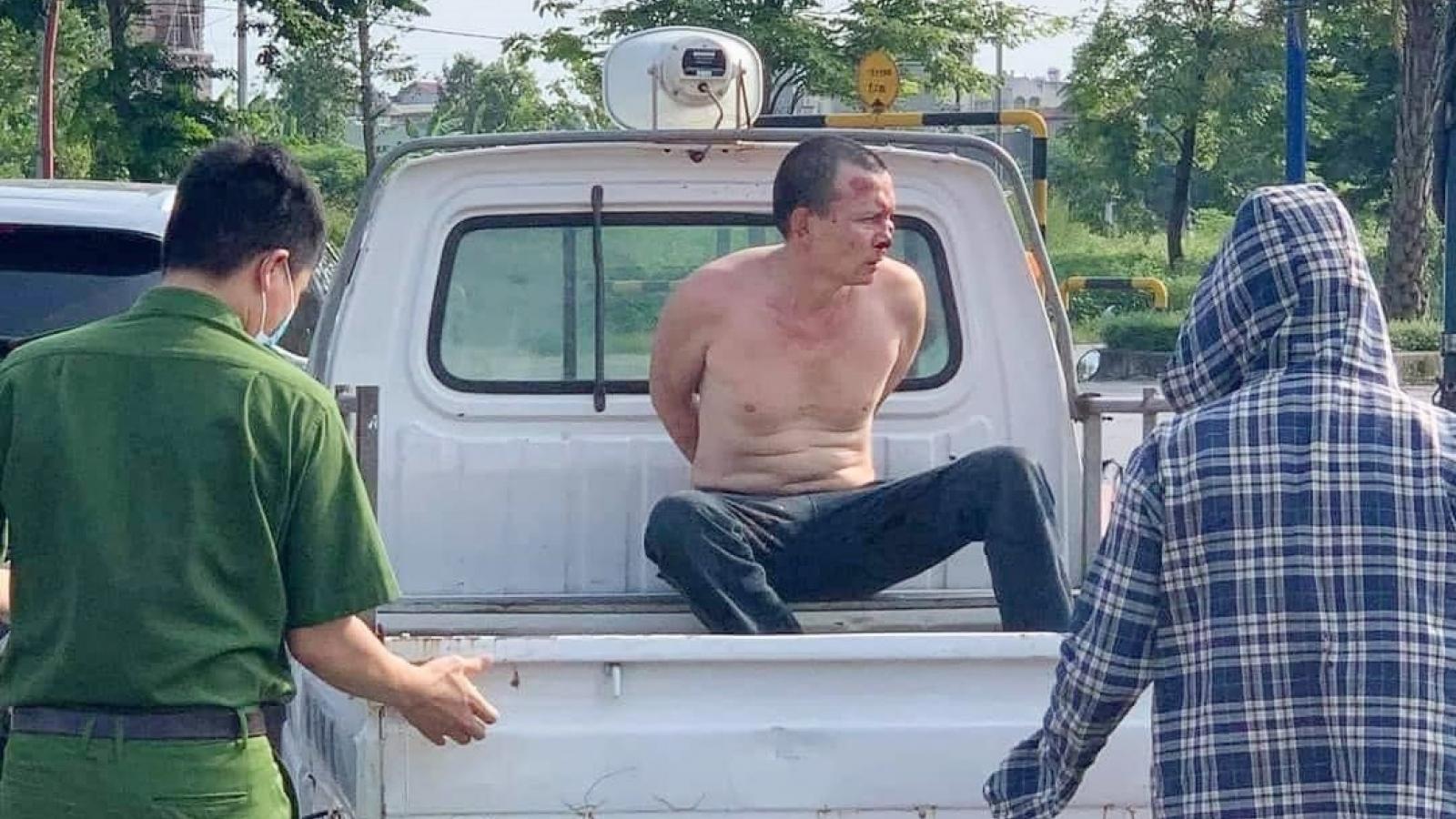 Kẻ đâm tài xế taxi tại Hà Nội từng sát hại 1 người ở Thanh Hóa