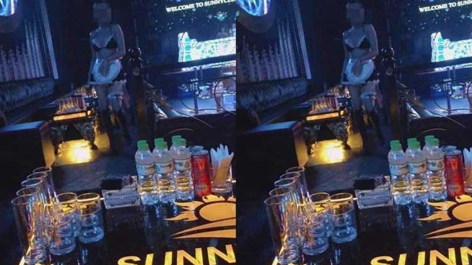 """Các """"clip nóng"""" lan truyền trên mạng không phải ở quán bar Sunny Vĩnh Phúc"""