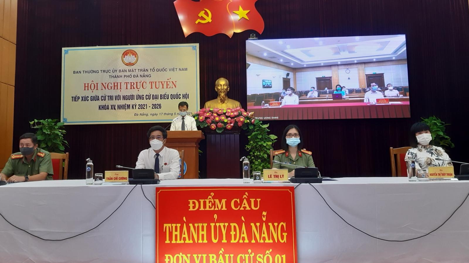 Ông Võ Văn Thưởng tiếp xúc trực tuyến với cử tri Đà Nẵng