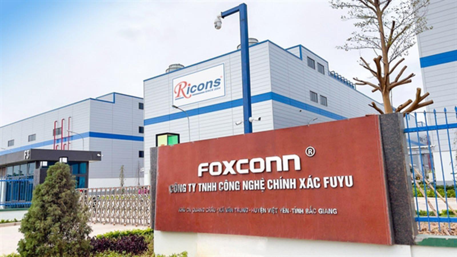 Nhà máy Foxconn và Luxshare tại Việt Nam đóng cửa vì Covid-19 bùng phát