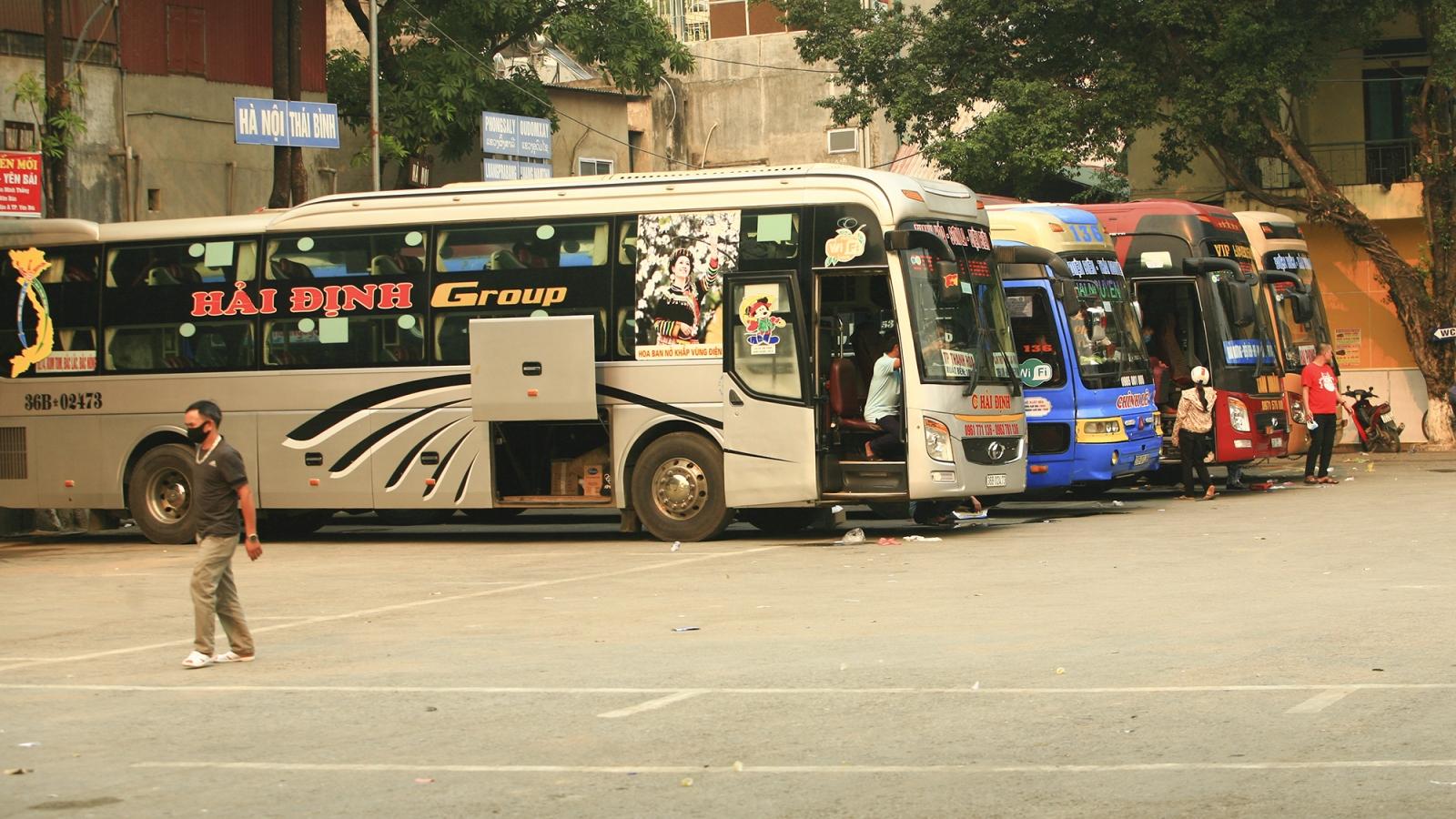 Điện Biên dừng vận chuyển hành khách liên tỉnh