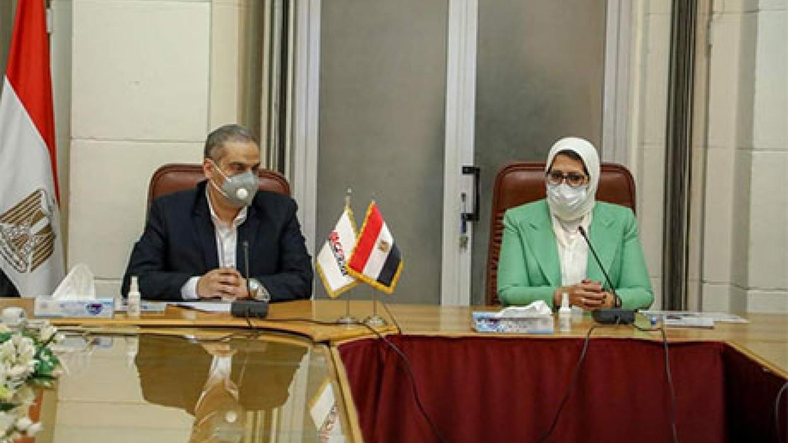 Ai Cập sẽ sản xuất 2 triệu liều vaccine ngừa Covid-19 vào tháng 6 tới