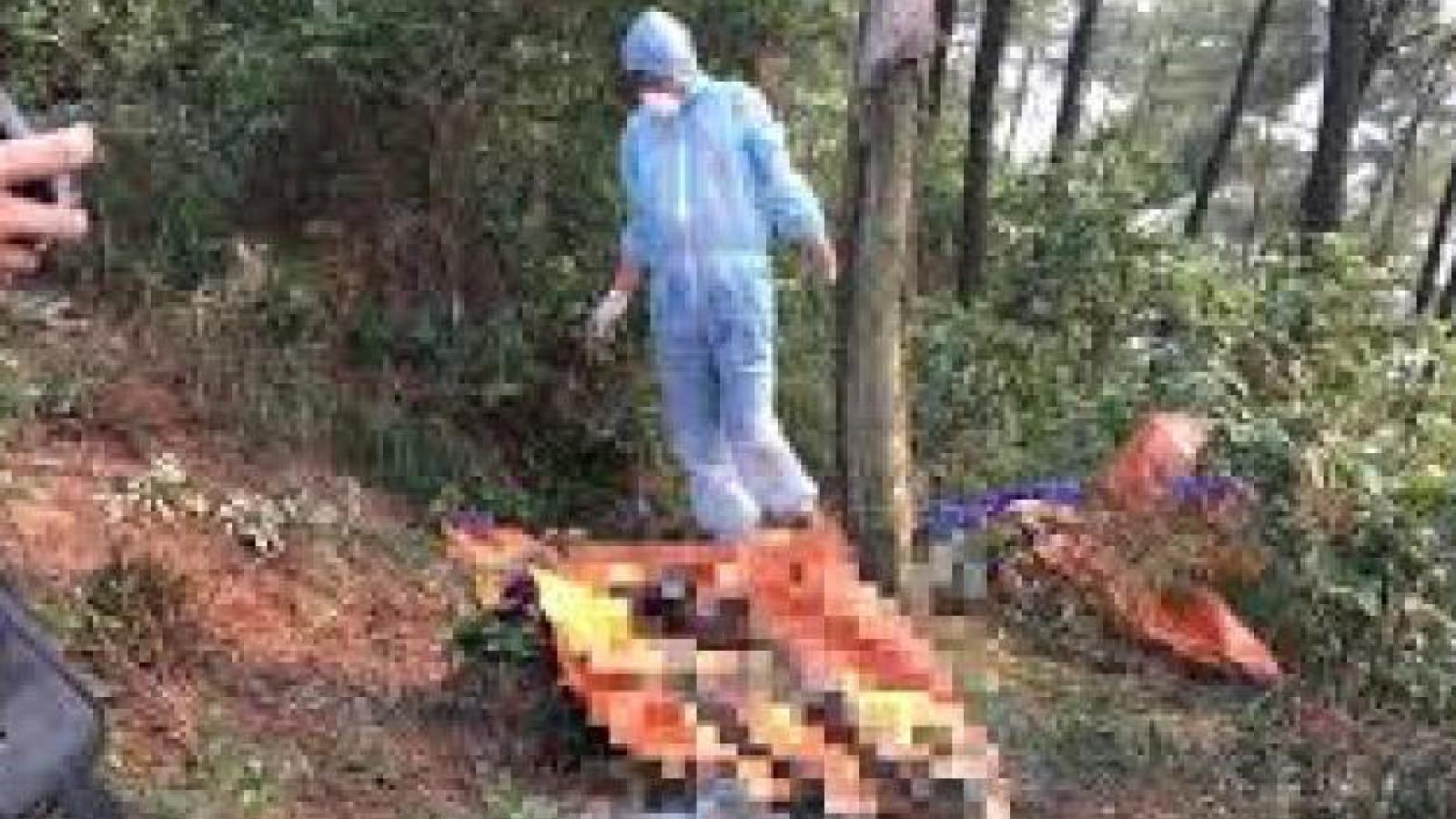 Điều tra vụ thi thể người đàn ông cháy đen dưới chân núi