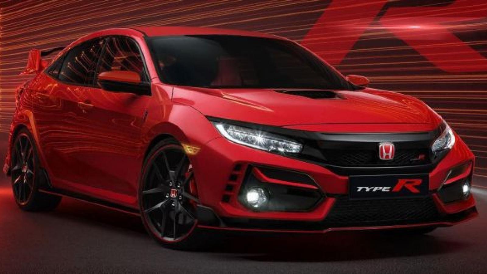 Cận cảnh Honda Civic Type R bản nâng cấp 2021 chốt giá 1,9 tỷ đồng