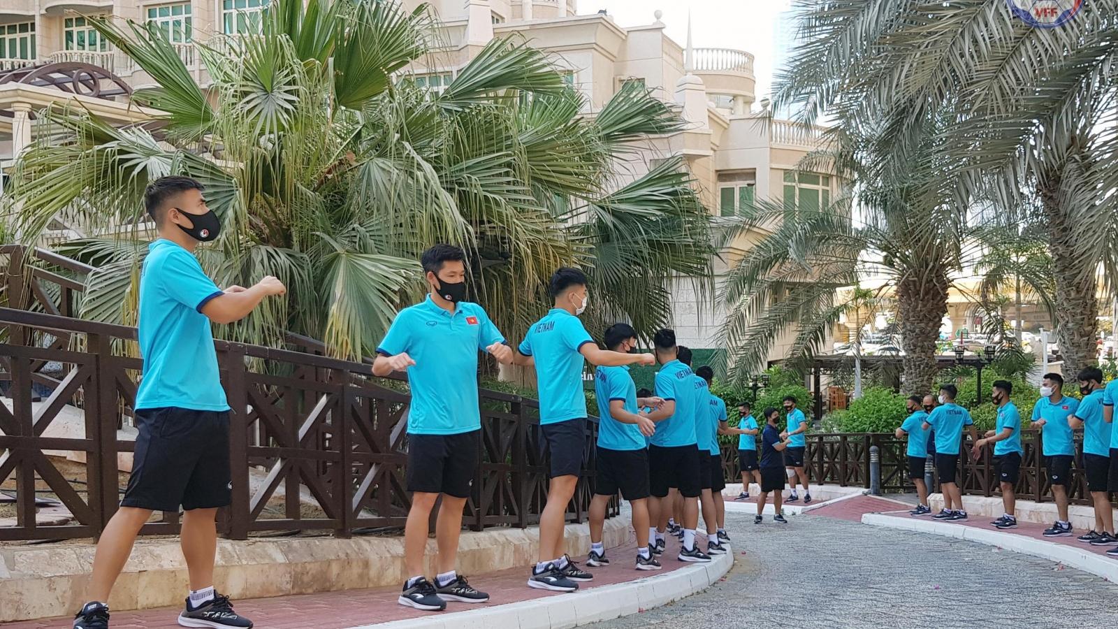 ĐT Việt Nam làm gì trong ngày đầu tiên ở UAE?