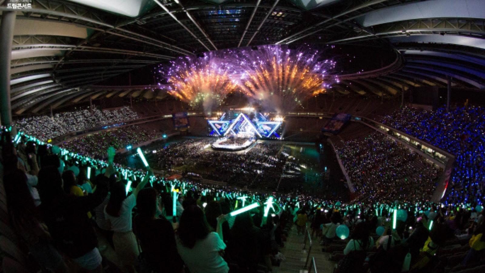 """""""Dream Concert"""" 2021 sẽ phát trực tuyến và ứng dụng thực tế ảo"""