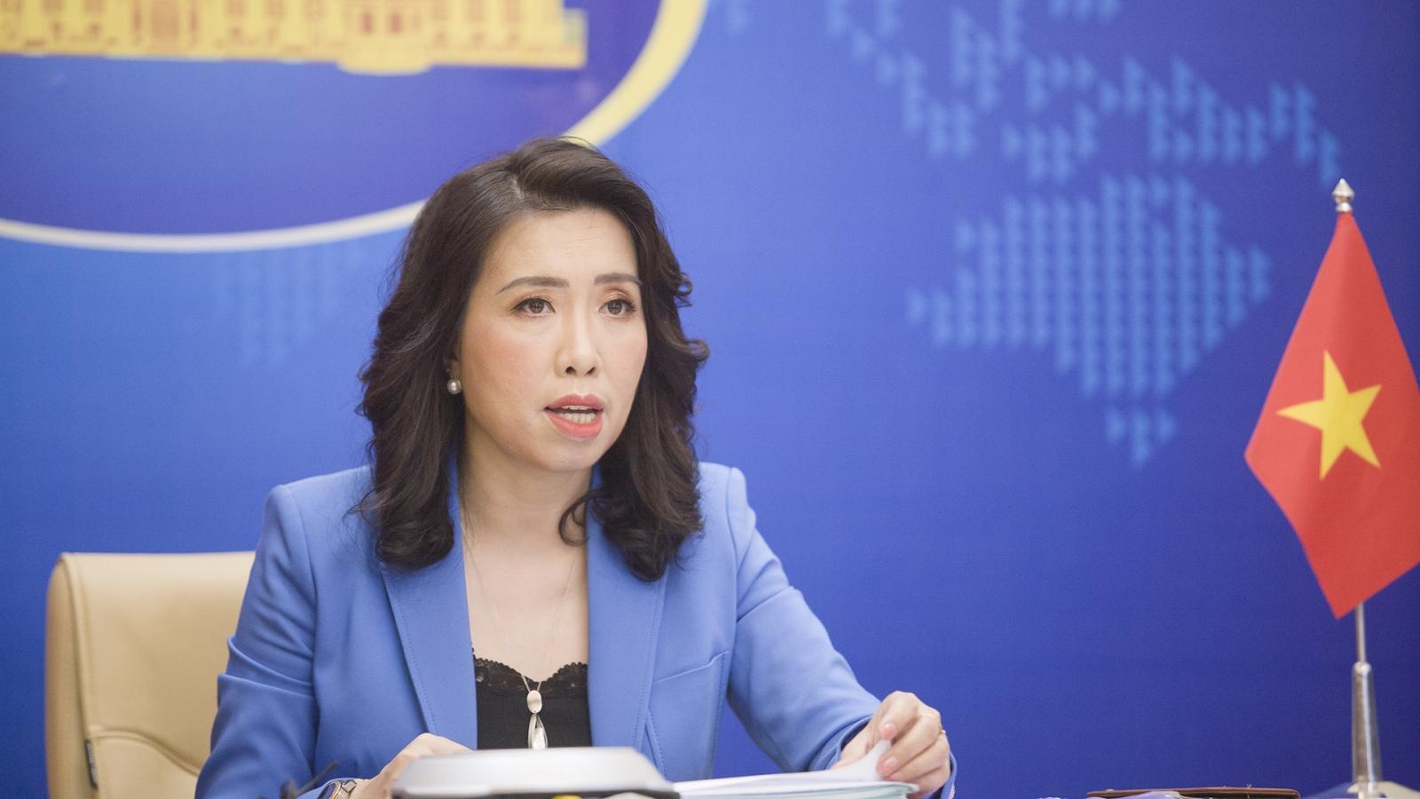 Việt Nam kiên quyết phản đối mọi hành động xâm phạm chủ quyền tại Trường Sa