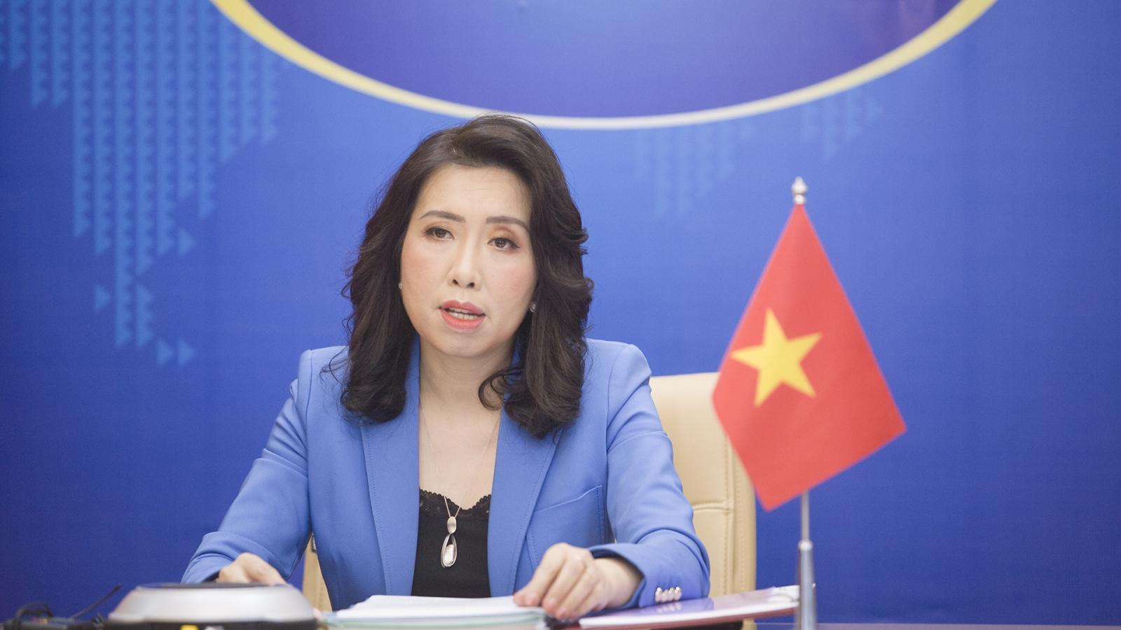 Việt Nam lên tiếng về việc Trung Quốc tập trận bắn đạn thật ở Biển Đông