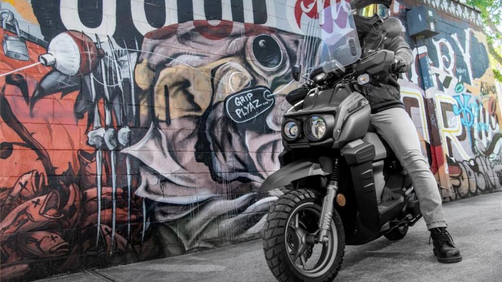 Yamaha ra mắt xe tay ga cho nam giới - Zuma 125 2022