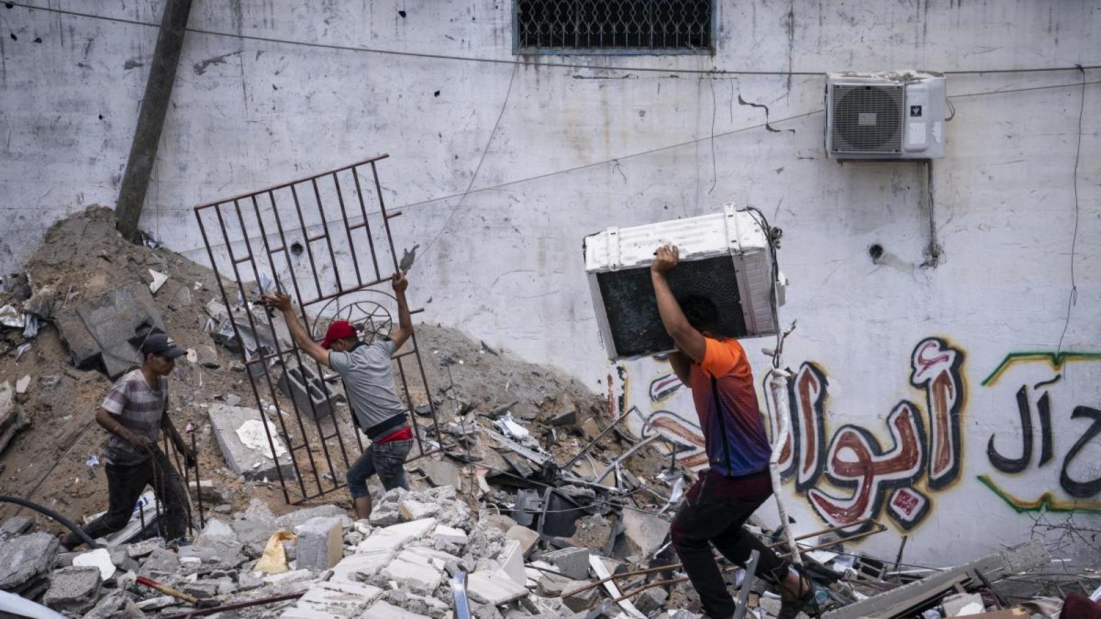 Gaza đối mặt khó khăn chồng chất khắc phục hậu quả sau ngừng bắn