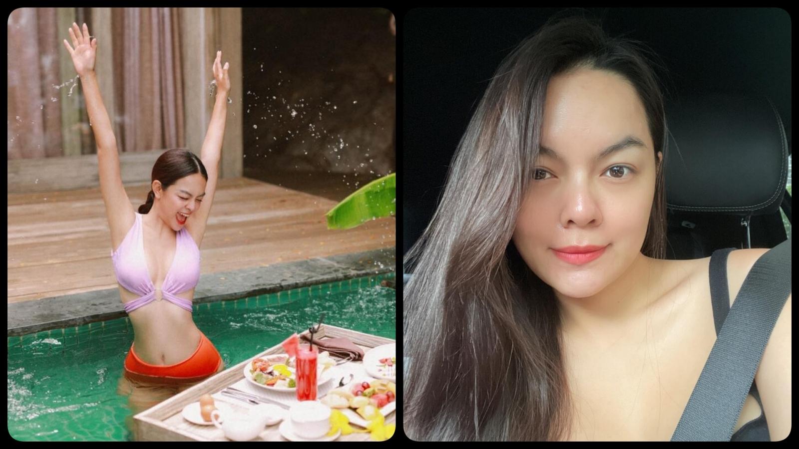 Chuyện showbiz: 'Mẹ hai con' Phạm Quỳnh Anh diện áo tắm khoe body nóng bỏng