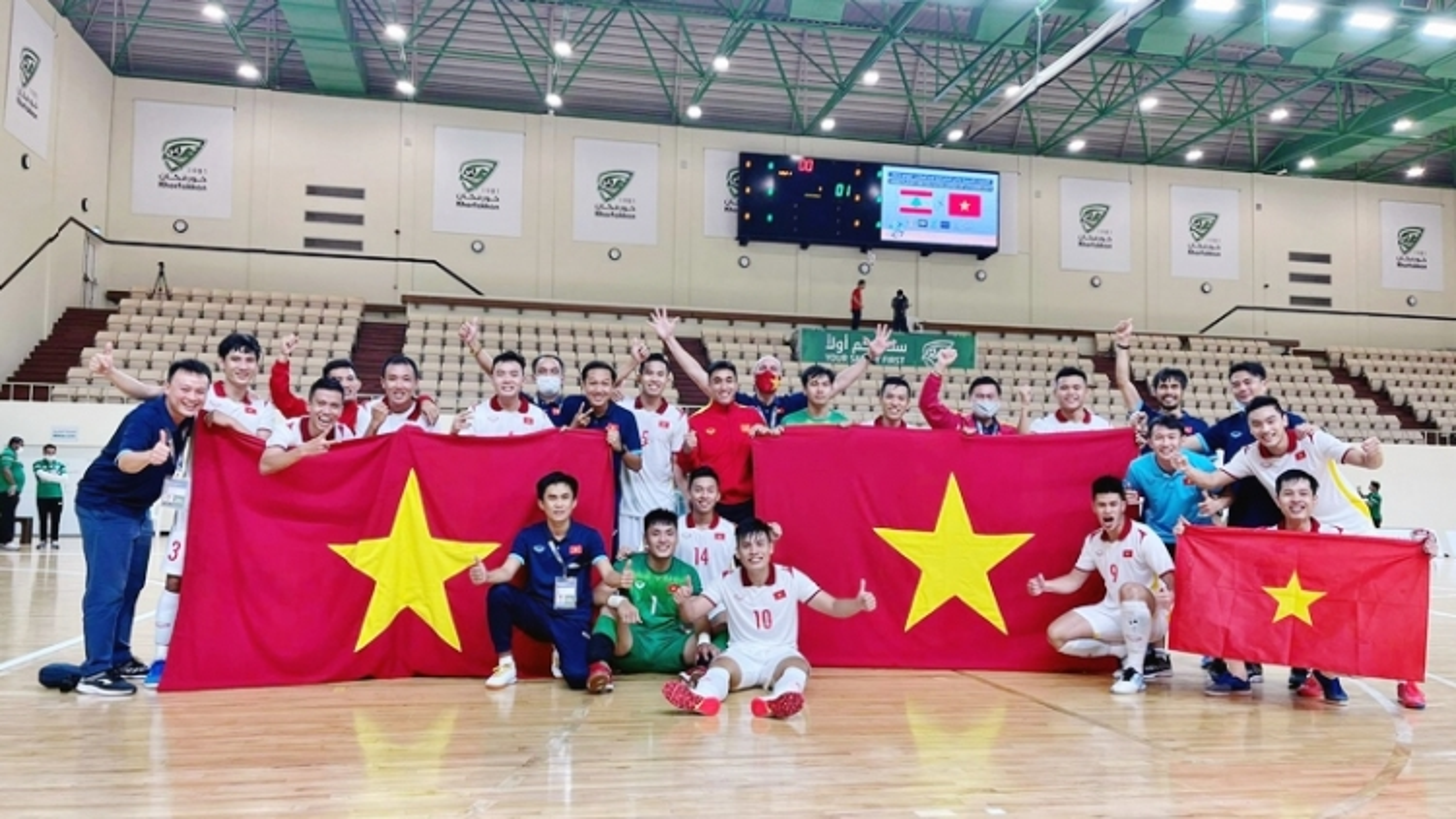 Vietnam in seeding group ahead of 2021 Futsal World Cup draw