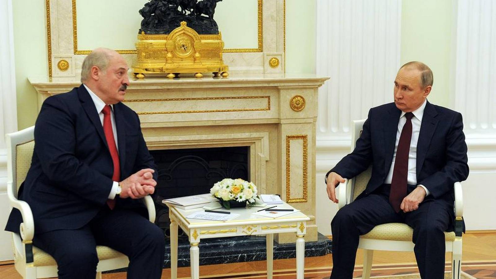 Các nhà lãnh đạo Nga và Belarus thảo luận về phát triển hợp tác kinh tế - thương mại