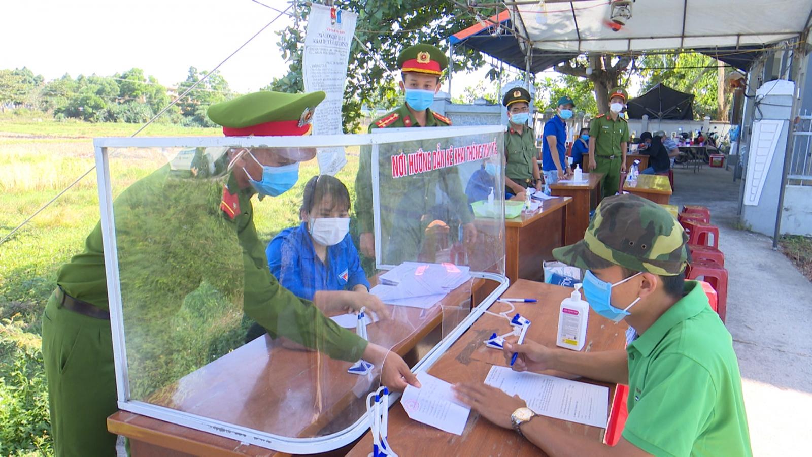 Quảng Nam xử phạt 320 trường hợp vi phạm quy định phòng chống dịch Covid-19