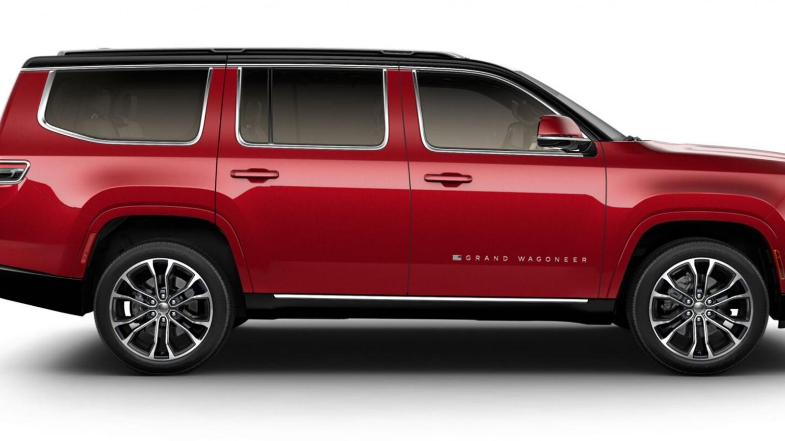 Lộ diện thông số của Jeep Grand Wagoneer 2022