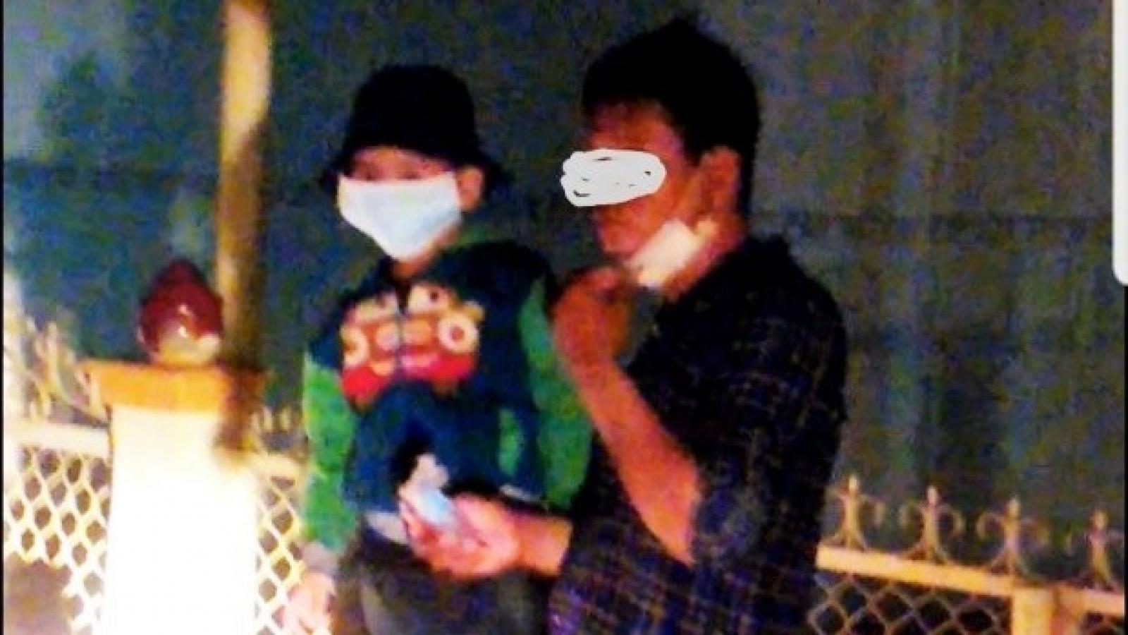 Cha bế con nhập cảnh trái phép từ Campuchia vào Việt Nam