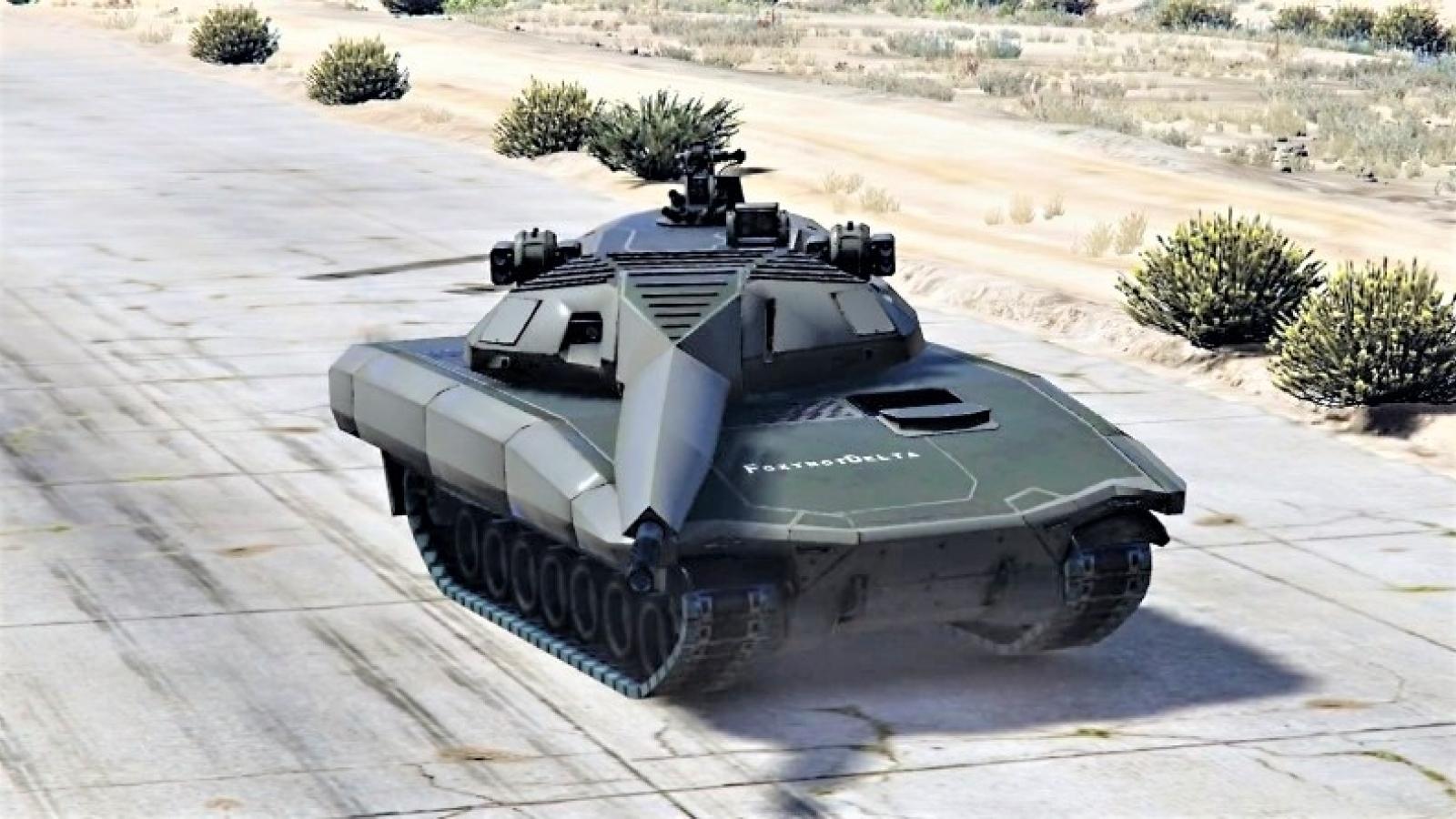 Xe tăng chạy điện - viễn tưởng hay thực tế?