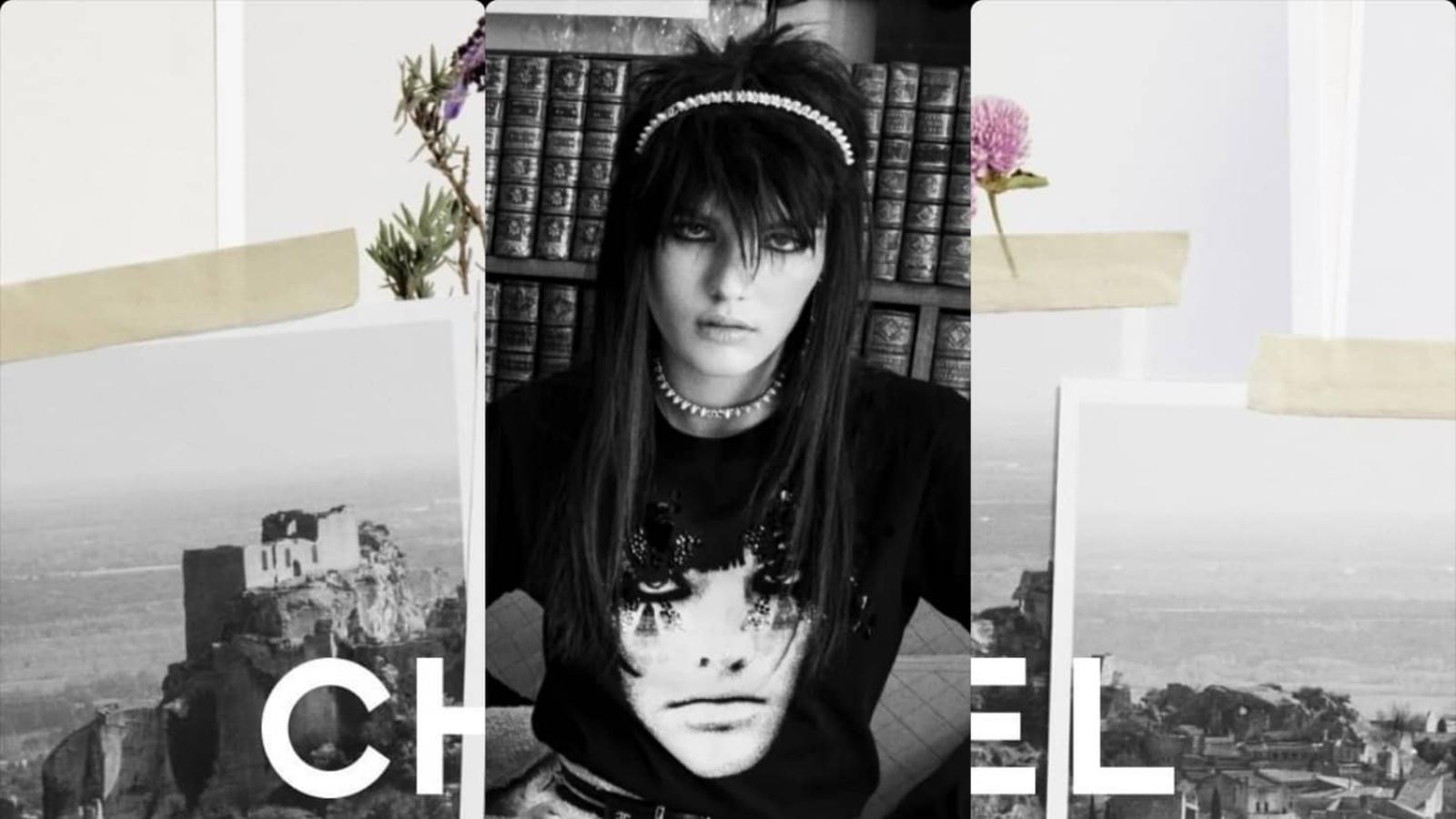 Chanel Cruise 2022: Chất rock punk nổi loạn trong thiết kế cổ điển của nhà mốt Pháp