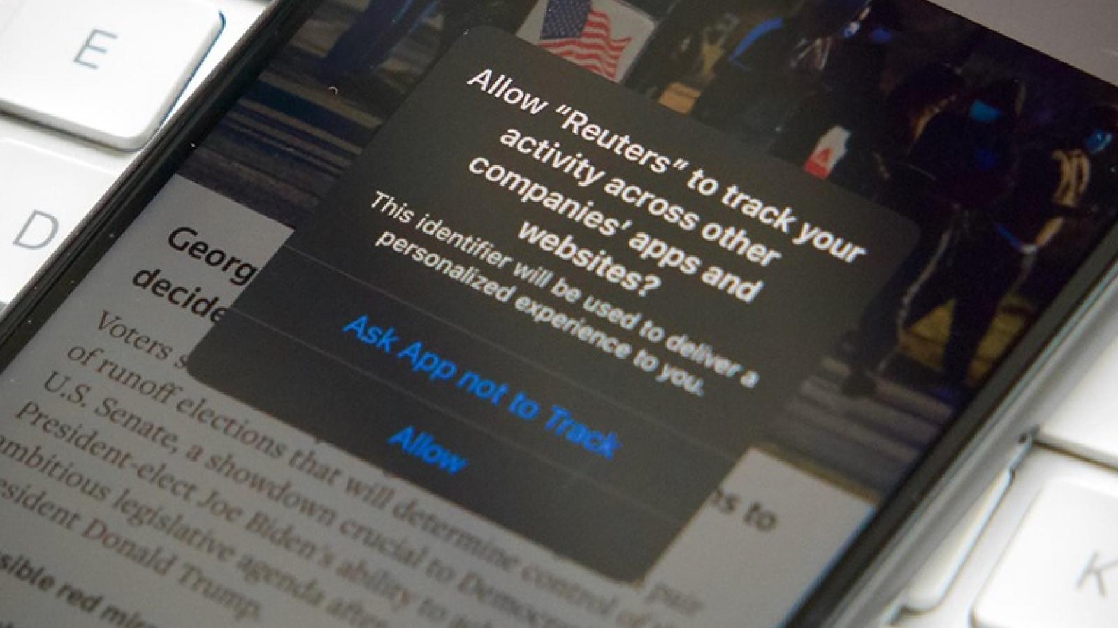 Hàng loạt người dùng iPhone chạy iOS 14.5 không đồng ý cho theo dõi