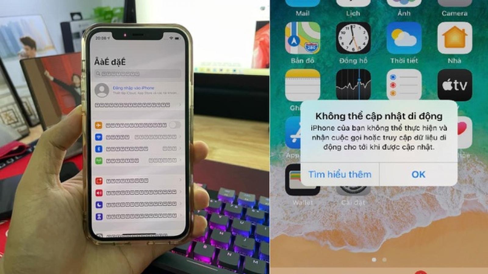 Người dùng iPhone kêu trời vì hàng loạt lỗi trên iOS 14.5.1