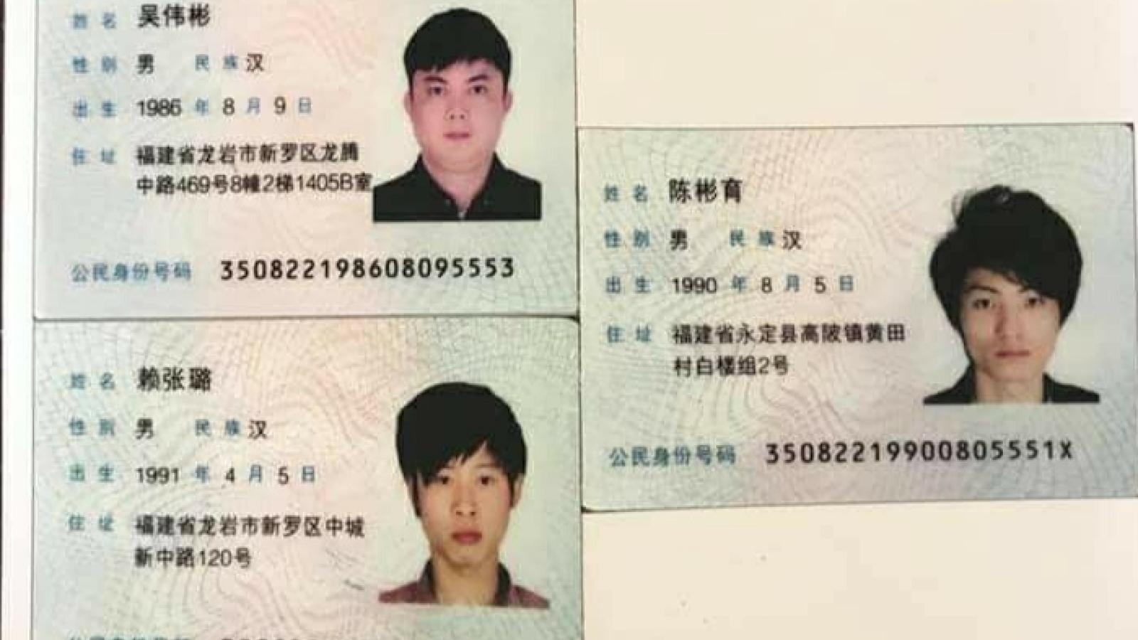 4 người Trung Quốc nhập cảnh trái phép vào Móng Cái đã bị bắt