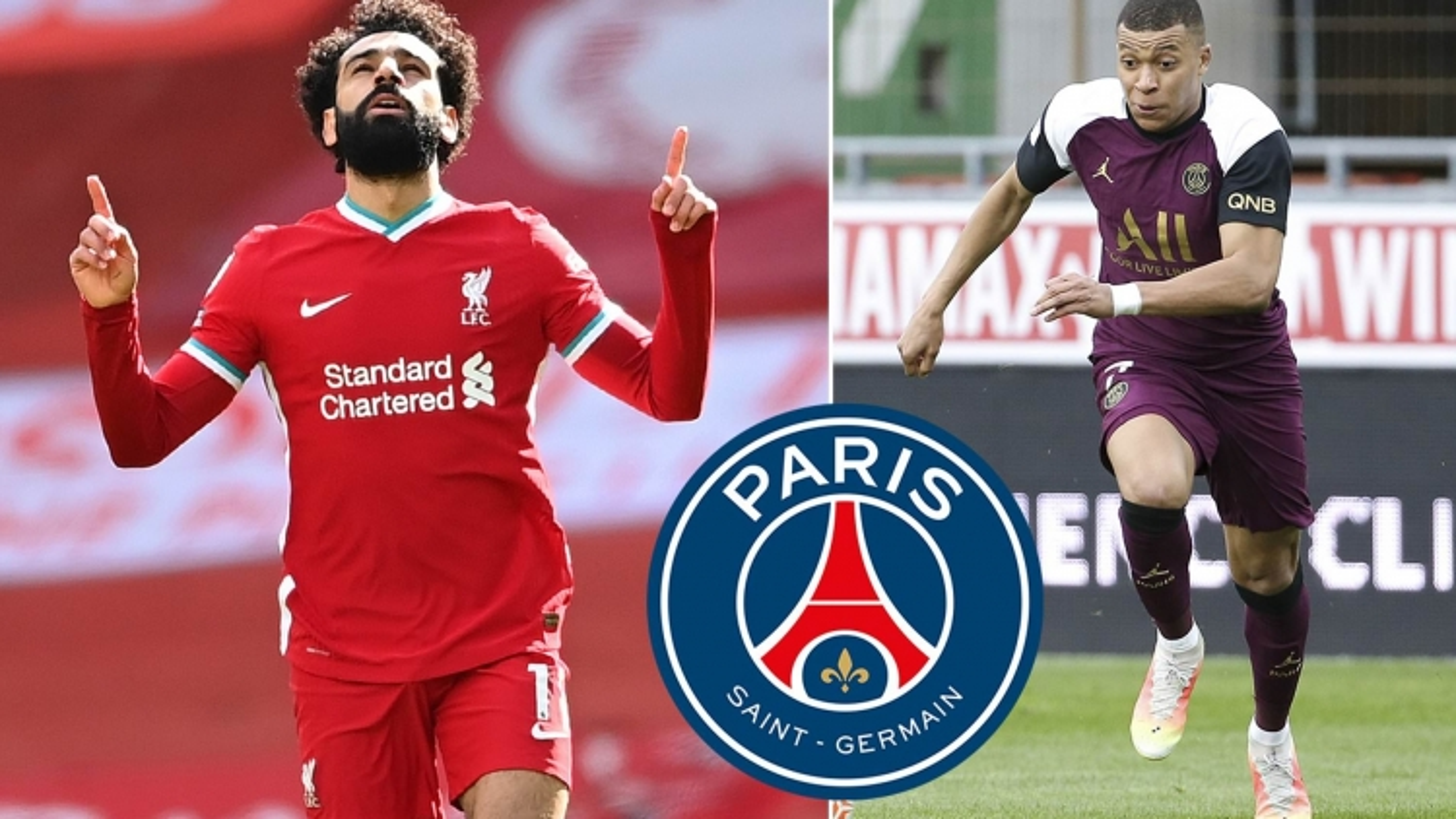 PSG sẽ chiêu mộ Salah nếu để mất Mbappe