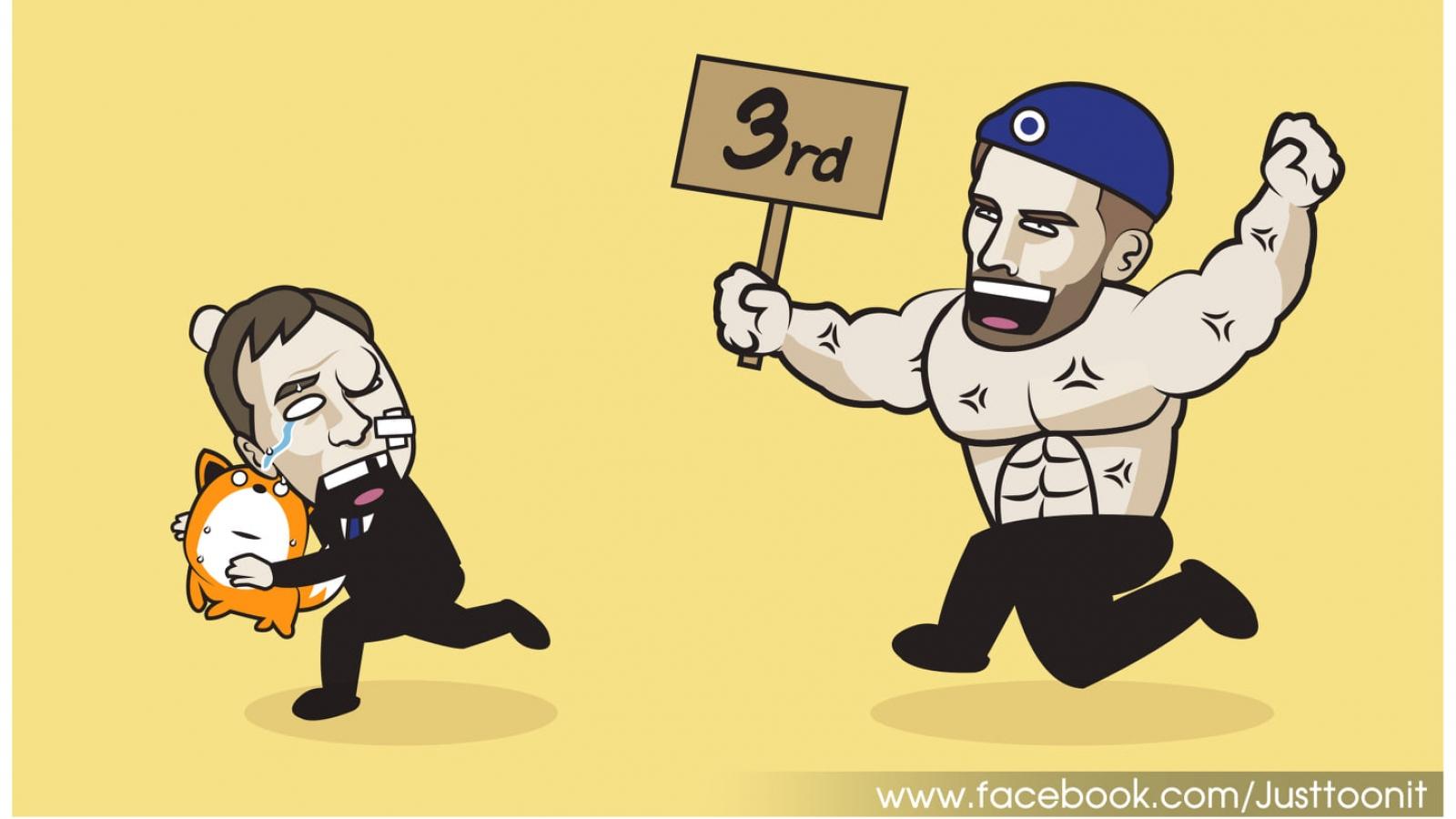 Biếm họa 24h: HLV Tuchel khoe cơ bụng 6 múi, truy đuổi Bầy cáo