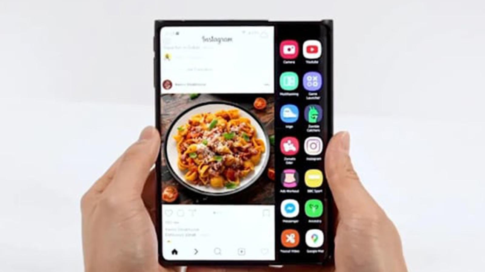 Samsung phô diễn một loạt màn hình linh hoạt thế hệ mới