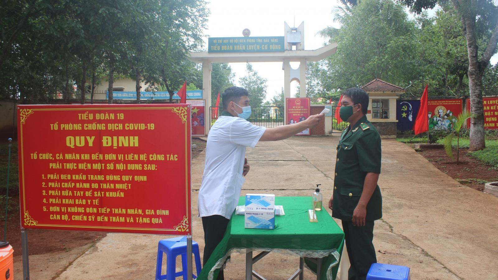 Bộ đội biên phòng Đắk Nông tham gia bầu cử sớm
