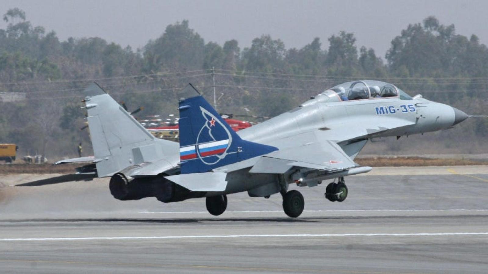 Tiêm kích tối tân MiG-35 của Nga đã sẵn sàng xuất kích