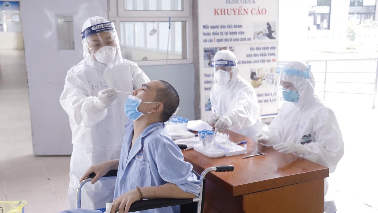 Bệnh viện K: Vừa khoanh vùng dập dịch, vừa đảm bảo điều trị cho người bệnh