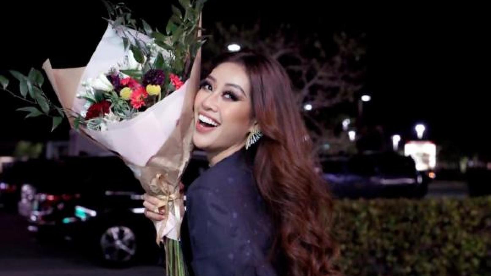 Chuyện showbiz: Hoa hậu Khánh Vân tái xuất rạng rỡ sau khi lọt top 21 Miss Universe