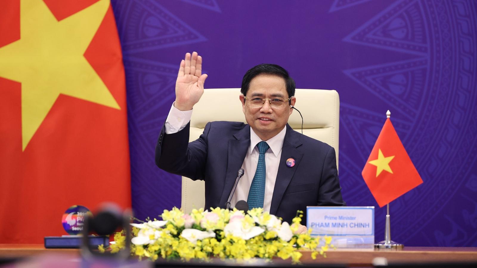 Thủ tướng: Cần hài hòa giữa phục hồi kinh tế với phát triển xanh thời kỳ hậu Covid-19